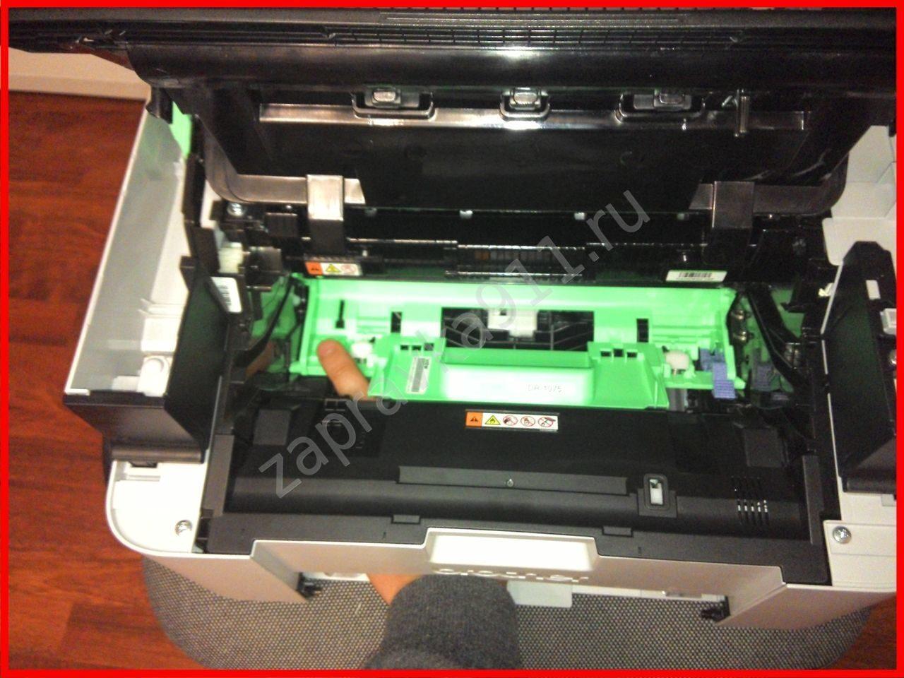 инструкция по заправке картриджа xerox phaser 5550