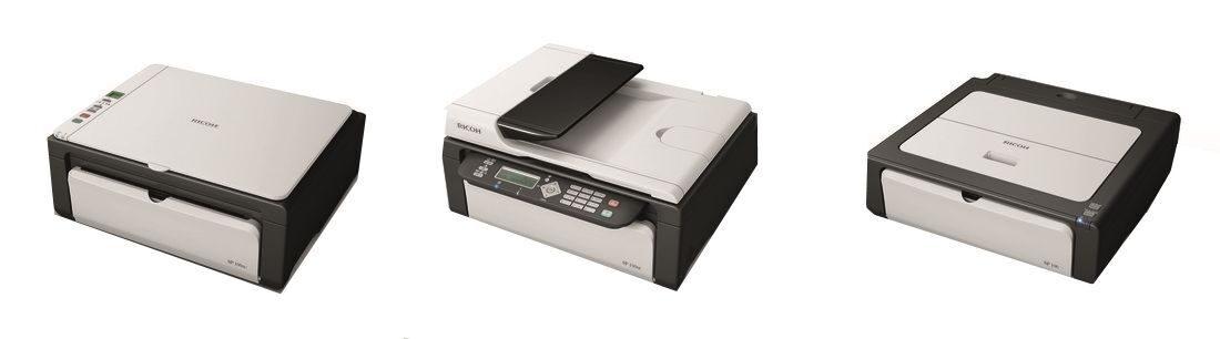 Принтер Ricoh Sp 100 драйвера скачать