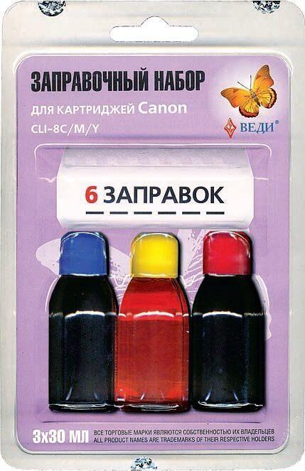 Картридж цветной заправка своими руками