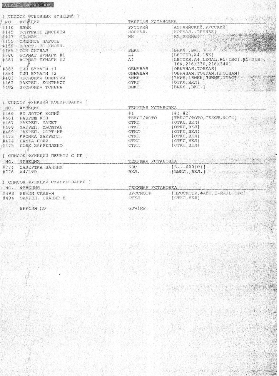 инструкция замена термопленки lbp 1210